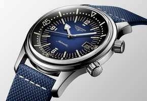 Longines Legend Diver Watch обрели цвет