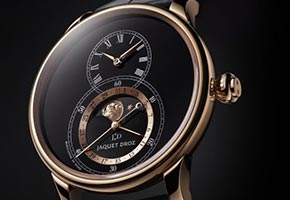 Jaquet Droz Grande Seconde Moon Black Enamel