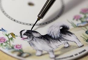 Часы Jaquet Droz к наступающему году Собаки