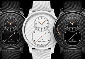 Jaquet Droz выпускает часы из белой и черной керамики