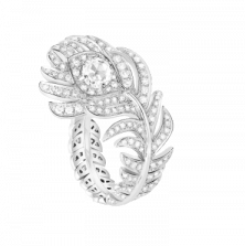 Boucheron Кольцо Plume De Paon JRG0281055