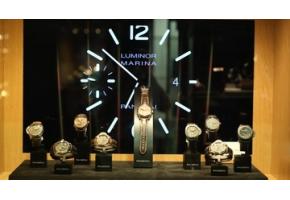 Открытие выставки уникальных часов Panerai